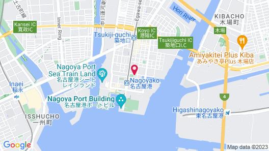 Harbor Lodge Nagoya Map