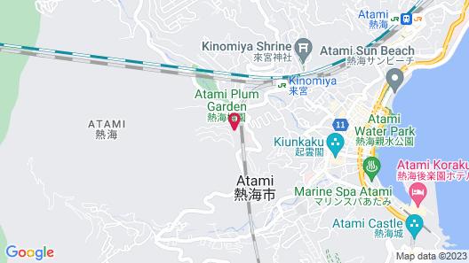 Atami Tamanoyu Hotel Map