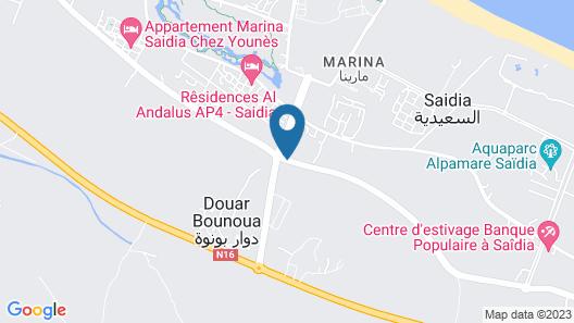 Appartement AP8 Marina Saidia Map