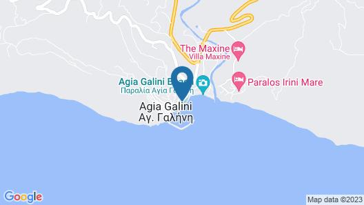 Galini Mare Map
