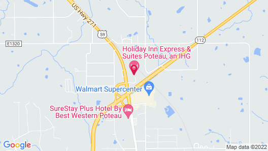 Holiday Inn Express Hotel & Suites POTEAU, an IHG Hotel Map