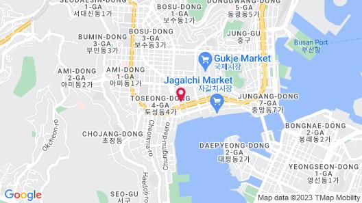 MGM Hotel Busan Map