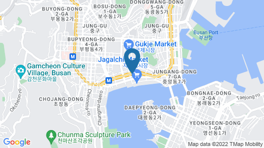 Stanford Inn Busan Map