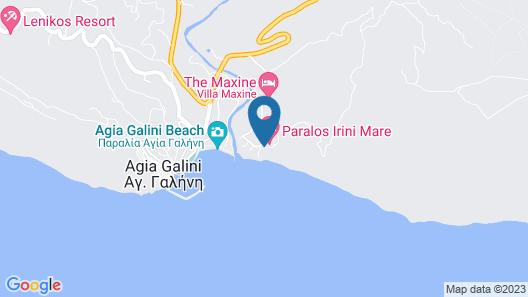 Irini Mare Hotel Map