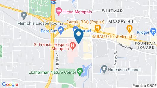La Quinta Inn & Suites by Wyndham Memphis Primacy Parkway Map