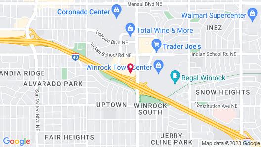 Marriott Albuquerque Map