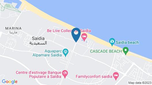 Be Live Collection Saidia Map