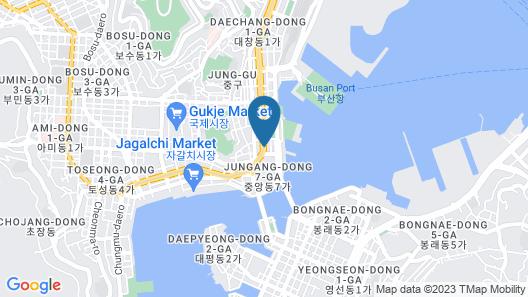 Hyu+ Guest House - Hostel Map