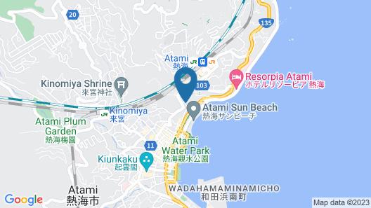 Condominium Hotel Grandview Atami Map