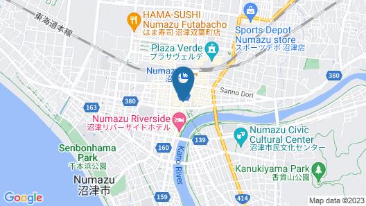 HOTEL LiVEMAX NUMAZU-EKIMAE Map