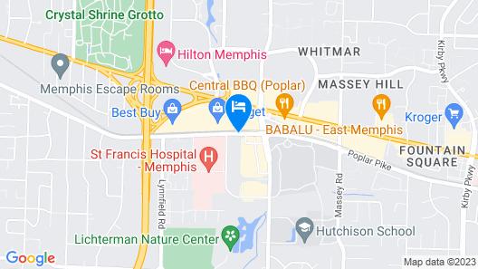 Courtyard by Marriott Memphis East/Park Avenue Map