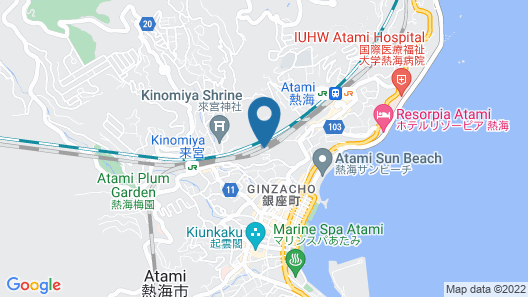 Relax Resort Hotel Map