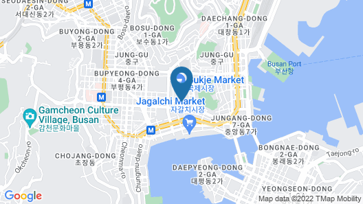 Aventree Hotel Busan Map