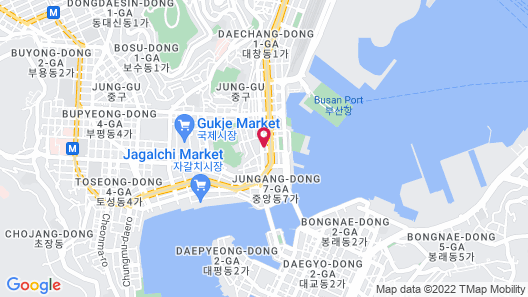 Central Park Hotel Busan Map