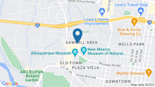 Hotel Chaco Map