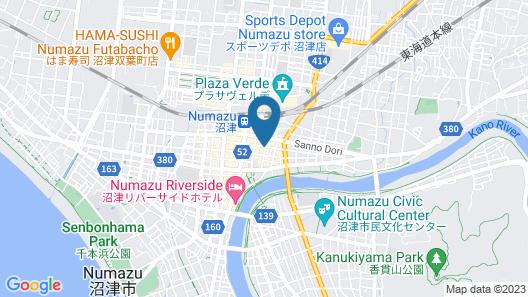 Numazu Grand Hotel Map