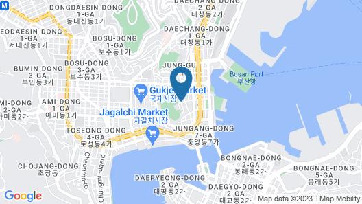 Elysee Hotel Map
