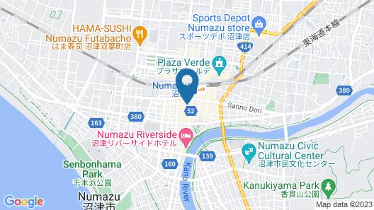 SANCO INN NUMAZU-EKIMAE Map