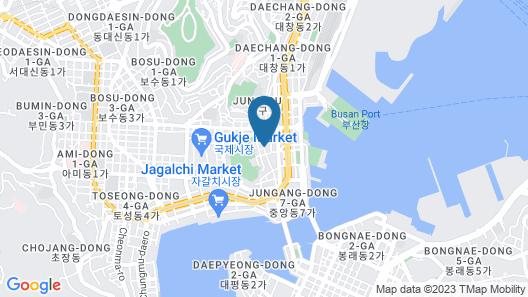 Hotel The Grang Nampo (formerly YTT) Map