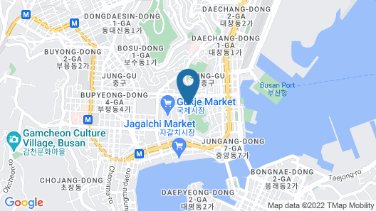 Busan Cont Hotel Map