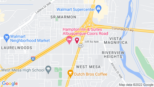Travelodge by Wyndham Albuquerque West Map