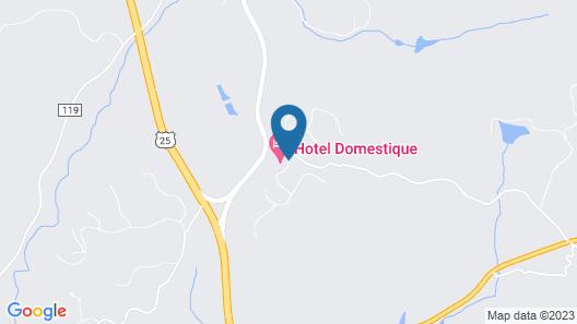 Hotel Domestique Map