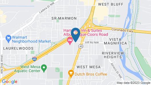 Days Inn by Wyndham Albuquerque West Map