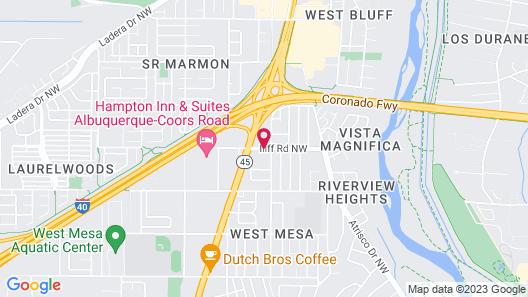 Extend-A-Suites Albuquerque West Map