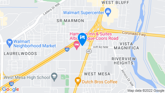 La Quinta Inn & Suites by Wyndham Albuquerque West Map