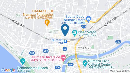 Cocochee Hotel Numazu Map