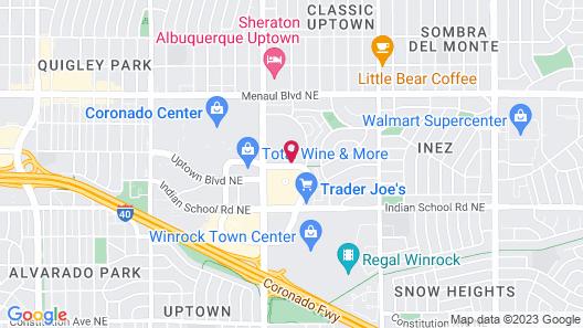 Homewood Suites by Hilton Albuquerque Uptown Map