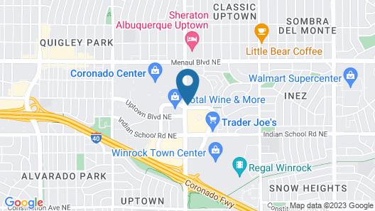 Hyatt Place Albuquerque/Uptown Map