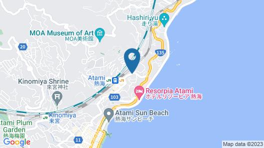 Toyoko Inn Atami Ekimae Map