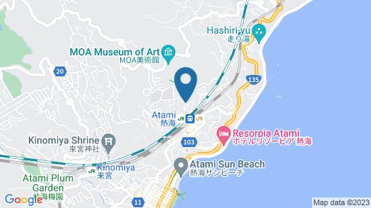 TKP Hotel & Resort Lectore Atami Momoyama Map