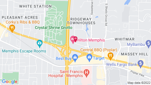 Staybridge Suites Memphis - Poplar Ave East, an IHG Hotel Map