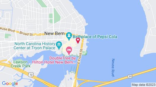 Benjamin Ellis House Bed & Breakfast Map