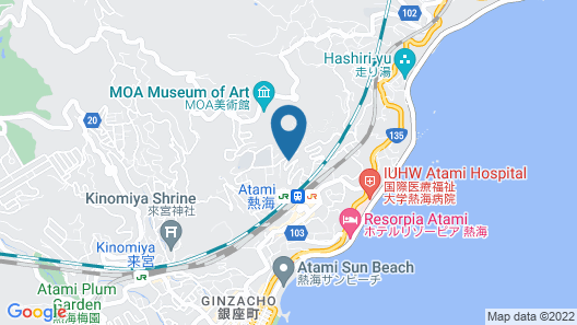 The Gran Resort Elegante Atami Map