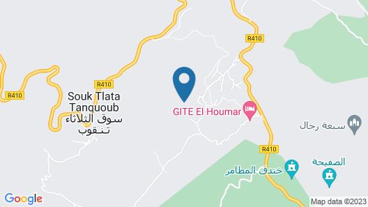Gite El Houmar Map