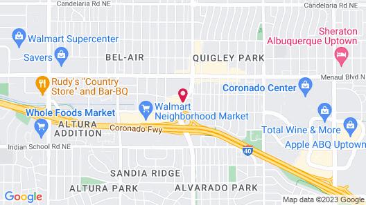 San Mateo Inn Map