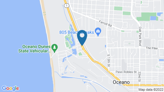 Oceano Inn Map