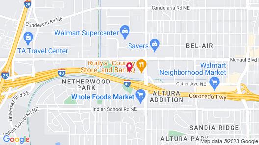 Sonesta ES Suites Albuquerque Map