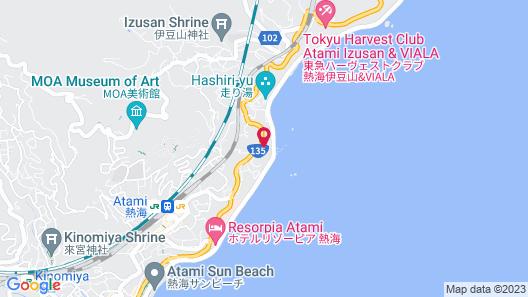 Atami Ocean Hotel Map