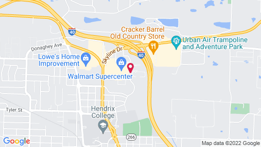 Holiday Inn Express & Suites Conway Map