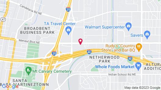 Midtown Inn & Suites Map