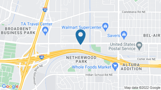 Holiday Inn Express Hotel & Suites Albuquerque Midtown, an IHG Hotel Map