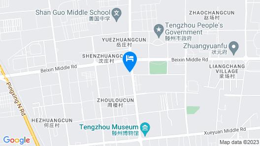 Jinjiang Inn Tengzhou Shan'guo North Road Map