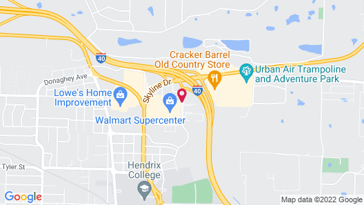 Fairfield Inn & Suites by Marriott Conway Map