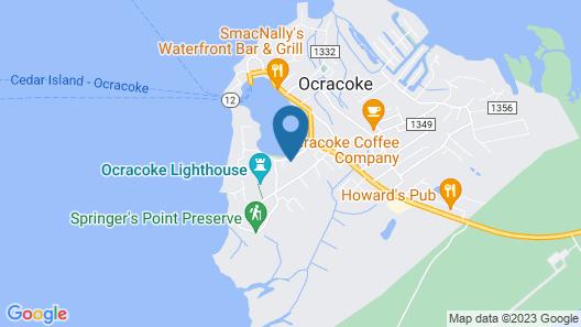 Ocracoke Harbor Inn Map