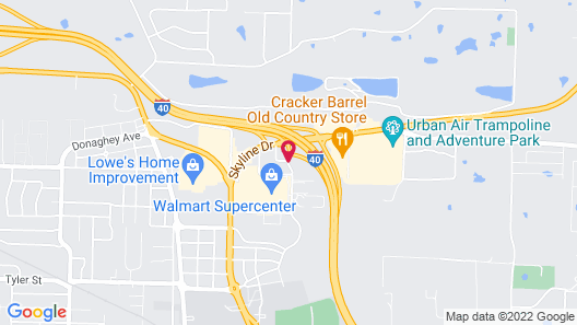 Super 8 by Wyndham Conway Map