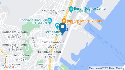 Hotel Almond Busan Station Map